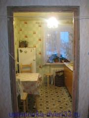 Старая дверная коробка без наличников. Установка дверей во Владимире.