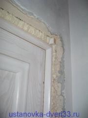 Дверной блок без добора. Установка дверей во Владимире.