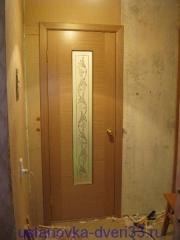 Вид устновленной двери. Установка дверей во Владимире.