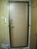 Установленная металлическая дверь без откосов. Установка двери Владимир.