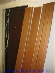 Материал для установки откосов. Установка дверей во Владимире.