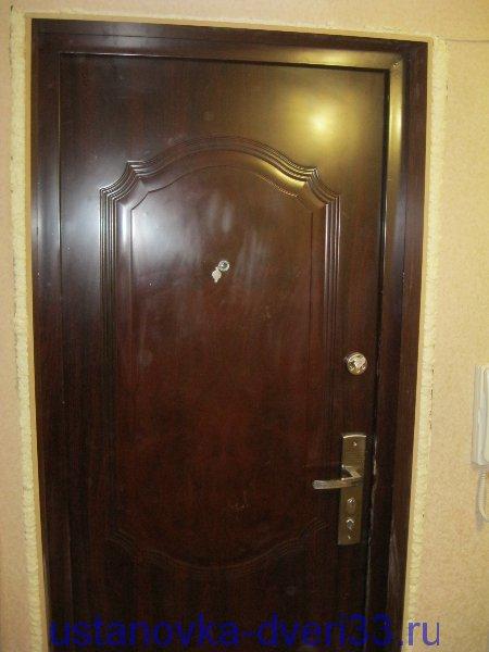 металлическая дверь входная измайлово