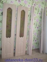 Старые двери и новый погонаж. Установка дверей во Владимире.