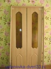 Дверной блок готовый к установке. Установка дверей во Владимире.