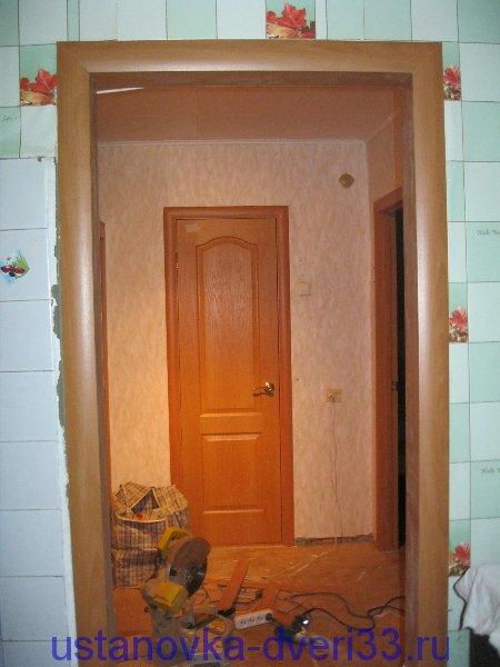 Как сделать портал для дверей 63