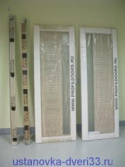Двери Профильдорс в упаковке. Установка дверей во Владимире и области.