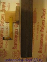 Разметка двери для врезки ригеля. Установка дверей Владимир.