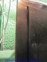 """Притворная часть дверной коробки металлической входной двери \""""Эстет\"""". Установка дверей во Владимире."""