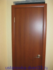 Дверь установлена. Установка дверей во Владимире