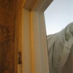Удаление старой металлической дверной коробки