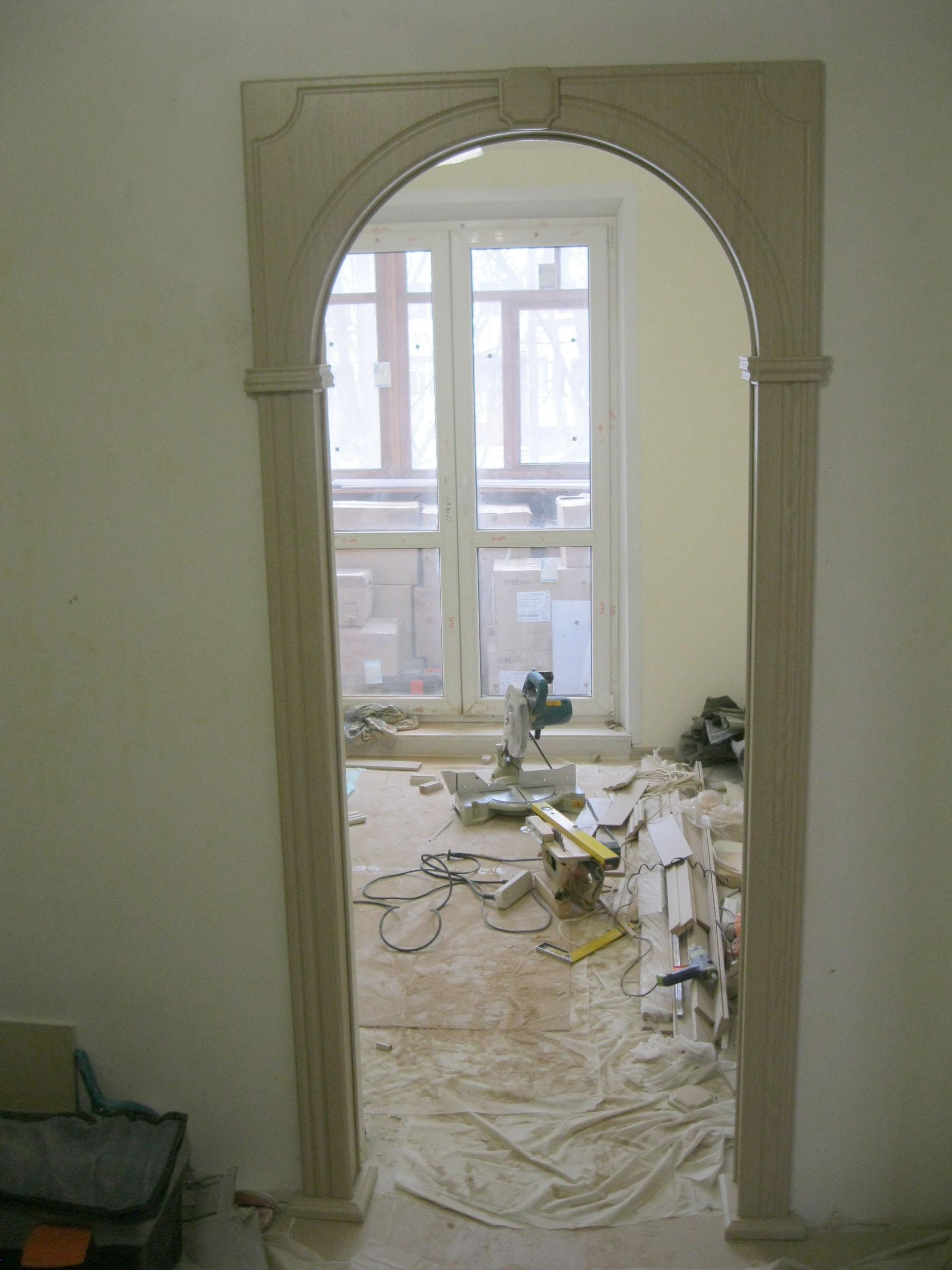 Как установить межкомнатную арку. Установка дверей во Владимире.