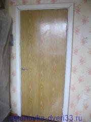 Старая дверь. Установка дверей Владимир.