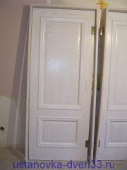 Готовый к установке дверной блок. Установка дверей во Владимире.