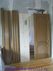 Дверь для установки и погонаж к ней. Установка дверей во Владимире и области.