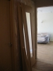 Дверь и запиленный коробочный брус. Установка дверей во Владимире.