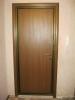 Вид металлической входной двери с откосами. Установка дверей Владимир.