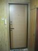 Установленная металлическая дверь с откосами. Установка двери Владимир.
