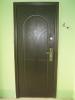 Установленная металлическая дверь. Установка двери Владимир.