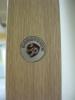 Фирменный знак Касапорте на торце двери. Установка дверей во Владимире.
