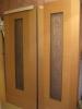 Распакованные и ожидающие установки двери. Установка дверей во Владимире.