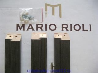 """Коробочный брус \""""Mario Rioli\"""" запилен на заводе. Установка дверей во Владимире."""