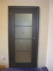 """Установка двери \""""Mario Rioli\"""" завершена. Установка дверей во Владимире."""