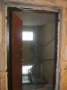 Отделка проема металлической двери. Установка дверей во Владимире.