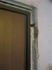 Вид двери без откосов. Установка дверей Владимир.