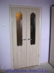 """Переустановленная за \""""умельцами\"""" дверь. Установка дверей во Владимире."""