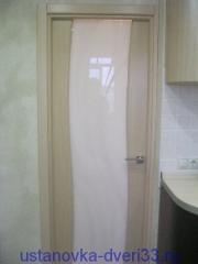 Качественно установленная дверь. Установка дверей во Владимире.