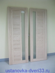 Распакованные двери Профильдорс. Установка дверей во Владимире и области.