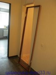 Готовая к установке дверная коробка и дверной проем.Установка дверей во Владимире